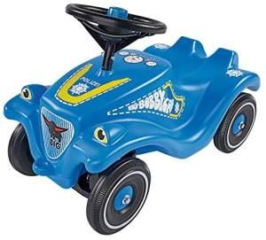 BIG 800056127 'Bobby-Car-Classic Police' ab 12 Monaten, bis 50 kg belastbar, blau