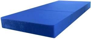 Stillerbursch Klappmatratze 80 x 195 cm Blau