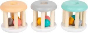 Babyrassel Pastell 3er Set