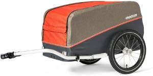 Croozer 'Cargo Pakko' Lastenanhänger Campfire Red 2020 inkl. Kupplung bis 40 kg