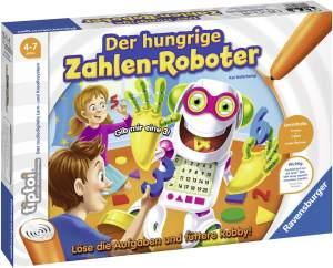 Ravensburger tiptoi Spiel 00555 Monsterstarke Musikschule - Lernspiel ab 4 Jahren, Singen-Hören-Musizieren und spielerisch die Welt der Musik kennenlernen, für 1-4 Spieler