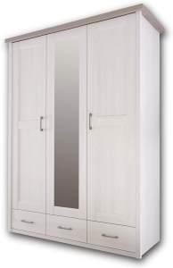 Bega 'Luca' Kleiderschrank weiß/trüffel