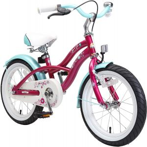 Kinderfahrrad Bikestar 16 Zoll - Deluxe Cruiser Creamy Violett