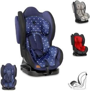 Lorelli 'Sigma' Kindersitz + SPS Gruppe 0/1/2 (0-25 kg), verstellbare Rückenlehne dunkelblau