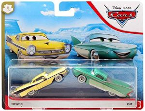 Mattel - Nicky B. & Flo   Disney Cars   Fahrzeug Modelle 2020   Cast 1:55