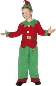 Smiffys Kostüm Kobold Grün mit Tunika Hose und Hut , Medium