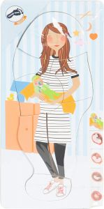 Schichtenpuzzle Schwangerschaft