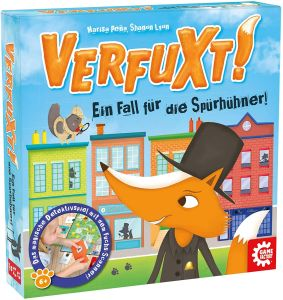 Carletto 646255 - Verfuxt!, Detektivspiel