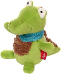 sigikid, Mädchen und Jungen, Stehauf-Krokodil, Baby Activity, Grün, 42296