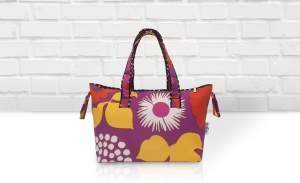 Belily-World Milano Shopper Bag - Wickeltasche Set