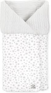 Jané Fußsack Einschlagdecke für Liegewanne und Babyschale, Multifunktion, Baumwolle, grau, universell einsetzbar