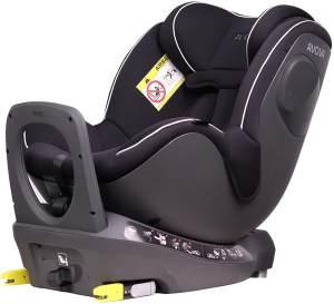 Avova 'Sperber-Fix i-Size' Autokindersitz Pearl Black