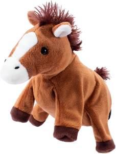 Beleduc 40121 - Handpuppe Pferd, Bewährt im Kindergarten