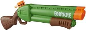Nerf Super Soaker 'Fortnite Pump-SG' Wasserblaster, Wasser-Pumpgun mit einfacher Befüllung, ab 8 Jahren
