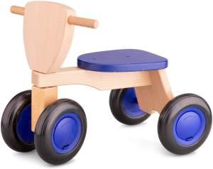 New Classic Toys unruhfahrrad Road Star4 Räder 50 cm Holz blau