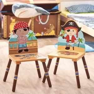 Fantasy Fields by Teamson 'Pirate' 2-er Set Schwarz/Rot