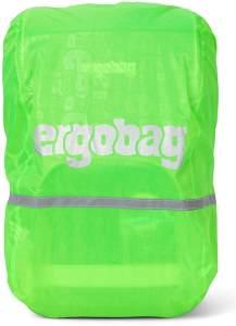 ergobag Regencape Grün, Maße: 38,5 cm x 63,5 cm x 29 cm, passend für alle ergobag-Modelle
