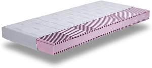 OrthoMatra ComPur 7-Zonen Kaltschaummatratze mit innovativem T-Schnitt : 80x200