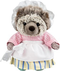 Enesco A26418 - Beatrix Potter Plüsh, Mrs. Tiggy Winkle, groß