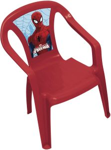 Kinderstuhl Spider-Man 36,5 x 51 cm Polypropylen rot