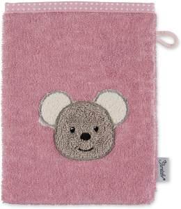 Sterntaler Waschhandschuh Maus Mabel, Größe: 21 x 15 cm, Rosa