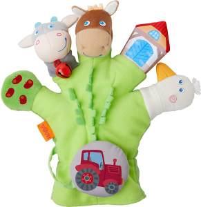 Haba 304933 - Spielhandschuh Bauernhof