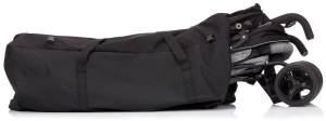 Fillikid Transporttasche für Kinderwagen, Buggys & Autositze | Tragetasche mit Riemen und Adressfenster für Sportwagen, Shopper z. B. Joie Mytrax Litetrax, Größe:für Buggy