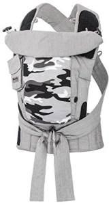 Bondolino Plus Babytrage inklusive Bindeanleitung, Camouflage grau