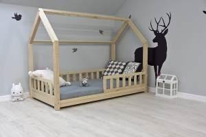 Best For Kids Hausbett 90x160 inkl. Matratze und Rausfallschutz