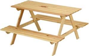 Beluga Spielwaren Kindersitzgruppe aus Holz, natur