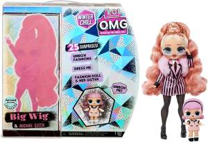 L. O. L. Surprise OMG Winter Chill Big Wig and Madame Queen