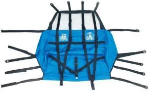 XLC Unisex– Erwachsene BS-X82 Ersatzsitzbezug für Kinderanhänger, blau, Standard