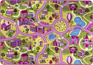 Kinderteppich 'City' 200x300 cm