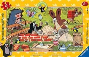 Ravensburger Kinderpuzzle 06151 - Der kleine Maulwurf und seine Freunde - Rahmenpuzzle