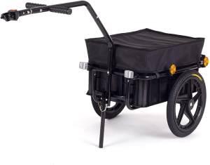 SAMAX Lastenanhänger für 60 kg in Schwarz