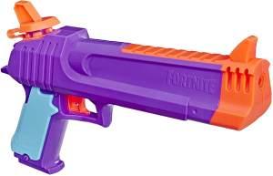 Super soaker E6875EU4 Fortnite HC-E Nerf Spielzeug-Wasserblaster – Überraschendes Nassspritzen – Kapazität von 218 ml – Für Jugendliche und Erwachsene, Mehrfarbig, Box size: 28 x 23 x 6.5cm