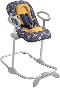 BÉABA - Transat Up&Down III - Wippe - höhenverstellbar - Unisex, für Babies und Kleinkinder - Botanischer Garten