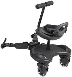 BabyGO 'WeGO' Buggyboard mit Sitz inkl. Verlängerung und Kupplung, universell einsetzbar