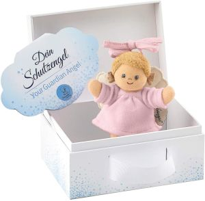 Sterntaler Spielzeug zum Aufhängen mit Band, Schutzengel für Mädchen, Alter: Für Babys ab der Geburt, Rosa