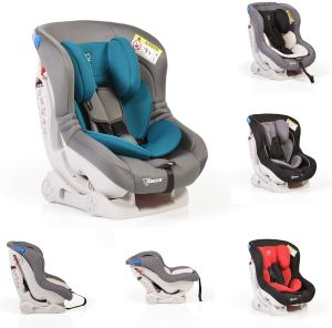 Kindersitz Aegis Gruppe 0/I (0-18 kg), Rückenlehne verstellbar, Farbe:grau türkis