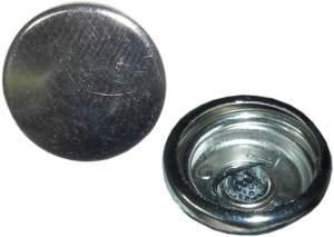 XLC Unisex– Erwachsene Druckknopf-3092009056 Druckknopf, Silber, One Size