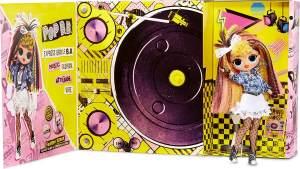 L.O.L. Surprise! 'OMG Remix Pop B.B.' Modepuppe, inkl. 25 Überraschungen, interaktive Verpackung spielt Musik, ab 5 Jahren