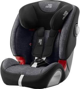 Britax Römer Kindersitz 9 Monate - 12 Jahre I 9 - 36 kg I EVOLVA 123 SL SICT Autositz Isofix Gruppe 1/2/3 I Graphite Marble