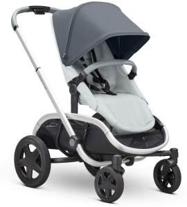Quinny Hubb Mono XXL Shopping-Kinderwagen, großer Einkaufskorb, einfach klappbarer Kinderwagen, nutzbar ab ca. 6 Monate bis ca. 3,5 Jahre, Graphite on Grey