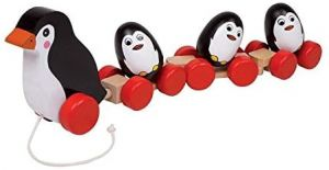 Legler small foot Ziehspielzeug Pinguinfamilie, ab 12 Monate, 2492
