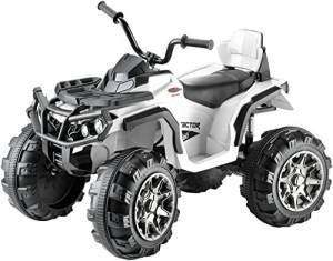 Jamara 'Ride-on Quad Protector', weiß, 12V, ab 3 Jahren