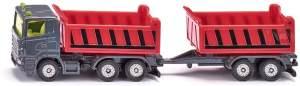 Siku 1685 LKW mit Kippmulde und Kippanhänger Spielzeug, Sortiert