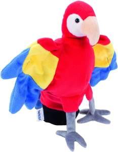 Beleduc 40131 - Handpuppe Papagei, Bewährt im Kindergarten