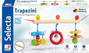 Selecta 61013 Trapezini, Kinderwagenkette, 56 cm