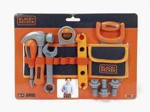 Black & Decker Werkzeuggürtel (Schwarz-Orange)